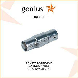 BNC F/F KONEKTOR ZA RG59 VIDEO KABEL