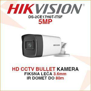 HIKVISION 5MP BULLET KAMERA DS-2CE17H0T-IT5F