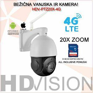 4G LTE IP ROTACIJSKA KAMERA 20XZOOM