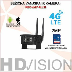 4G LTE MINI IP KAMERA