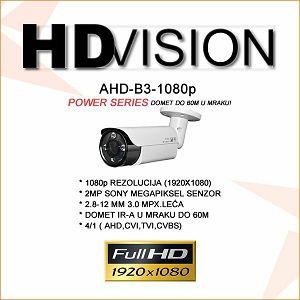 AHD BULLET KAMERA 2.0MP ZA VIDEONADZOR 1080P 2.8-12MM/60M IR
