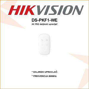HIKVISION AX PRO DALJINSKI UPRAVLJAČ ZA ALARM DS-PKF1-WE