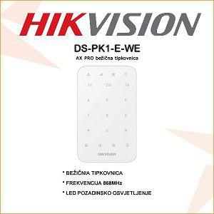 HIKVISION BEŽIČNA TIPKOVNICA DS-PK1-E-WE