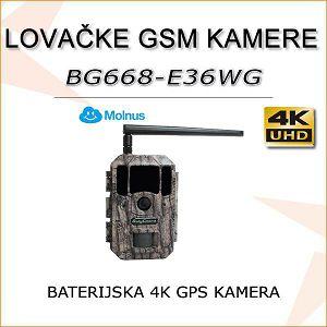 BATERIJSKA 4K LOVAČKA KAMERA SA GPS-OM