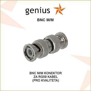 BNC M/M KONEKTOR ZA RG59 VIDEO KABEL