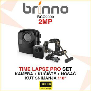 BRINNO BCC2000 TIME LAPSE PRO SET
