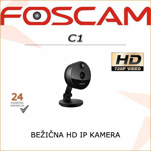 C1-  HD BEŽIČNA ALARM KAMERA 720P IR FOSCAM