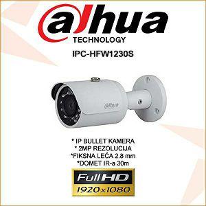 DAHUA 2MP IP BULLET KAMERA ZA VIDEONADZOR IPC-HFW1230S