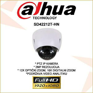 DAHUA 2MP IP PTZ KAMERA SD42212T-HN