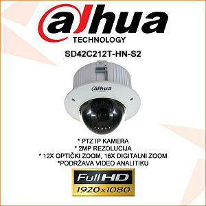 DAHUA 2MP IP PTZ KAMERA SD42C212T-HN-S2