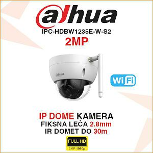 DAHUA 2MP IR DOME WI-FI KAMERA