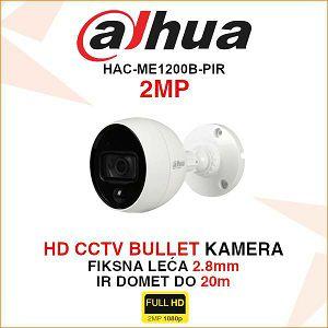 DAHUA 2MP MotionEye PIR KAMERA HAC-ME1200B-PIR