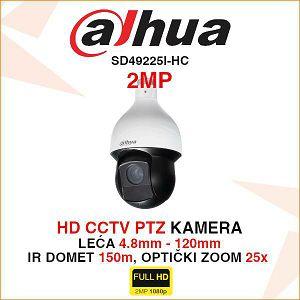 DAHUA 2MP PTZ KAMERA SD59225I-HC-S3