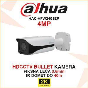 DAHUA 4MP BULLET KAMERA ZA VIDEO NADZOR HAC-HFW2401EP
