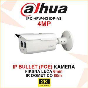 DAHUA 4MP IP BULLET 6mm KAMERA IPC-HFW4431DP-AS