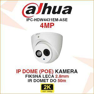 DAHUA 4MP IP DOME KAMERA ZA VIDEONADZOR IPC-HDW4431EM-ASE
