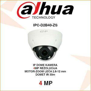 DAHUA 4MP IP MOTOR-ZOOM DOME KAMERA ZA VIDEONADZOR IPC-D2B40-ZS