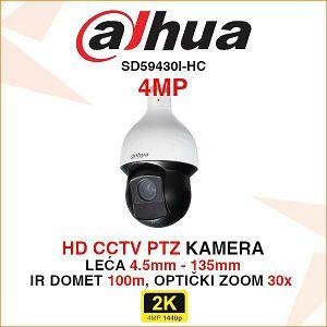 DAHUA 4MP PTZ KAMERA SD59430I-HC
