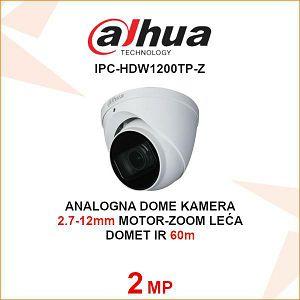 DAHUA CVI MOTOR-ZOOM 2MP DOME KAMERA ZA VIDEONADZOR HAC-HDW1200TP-Z