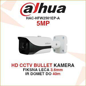 DAHUA HD CVI 5MP BULLET KAMERA HAC-HFW2501EP-A