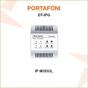 DODATNI MODUL IP ZA PORTAFON DT-IPG