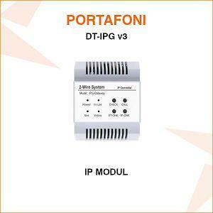 DODATNI MODUL IP ZA PORTAFON DT-IPG v3