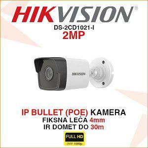 HIKVISION 2MP IP 4mm KAMERA ZA VIDEO NADZOR DS-2CD1021-I