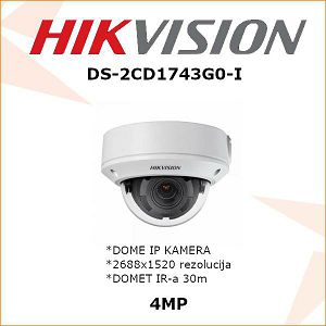 HIKVISION 4MP IP MOTOR ZOOM KAMERA ZA VIDEONADZOR DS-2CD1743G0-I