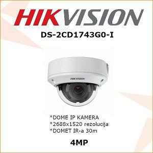 HIKVISION 4MP IP MOTOR ZOOM KAMERA ZA VIDEONADZOR DS-2CD1743G0-I