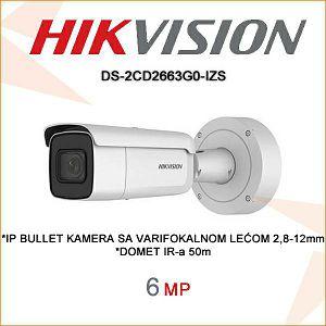 HIKVISION 6MP KAMERA 2,8-12mm DS-2CD2663G0-IZS