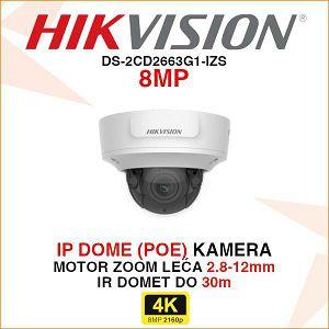 HIKVISION 8MP IP MOTOR ZOOM KAMERA DS-2CD2783G1-IZS