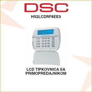 DSC LCD TIPKOVNICA SA PRIMOPREDAJNIKOM HS2LCDRF8EE3
