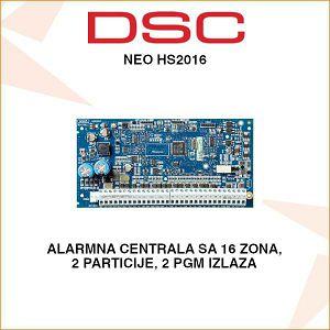 DSC NEO ALARMNA CENTRALA NEO HS2016