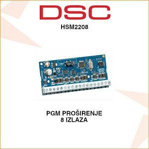 DSC PGM PROŠIRENJE 8 IZLAZA HSM2208