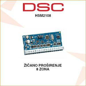 DSC ŽIČANO PROŠIRENJE 8 ZONA HSM2108