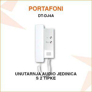 UNUTARNJA AUDIO JEDINICA ZA PORTAFON S 2 TIPKE DT-DJ4A