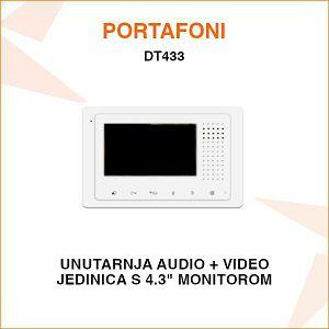 UNUTARNJA VIDEO JEDINICA ZA PORTAFON S 4.3