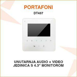 UNUTARNJA JEDINICA ZA PORTAFON SA 4.3
