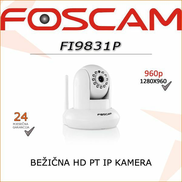 FI9831P- HD BEŽIČNA 960P KAMERA (BIJELA BOJA)