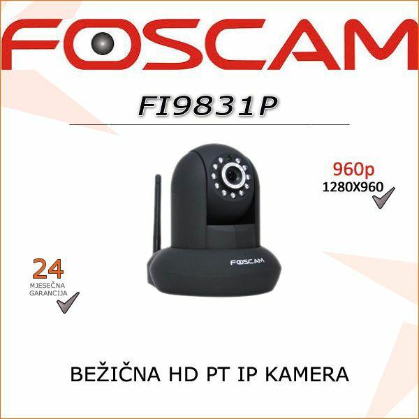 FI9831P- HD BEŽIČNA 960P KAMERA (CRNA BOJA)