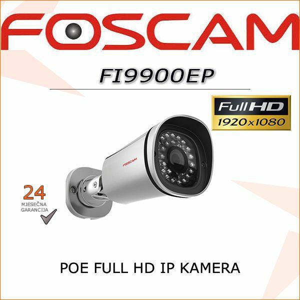 FI9900EP FULL HD POE 1080P IR KAMERA FOSCAM