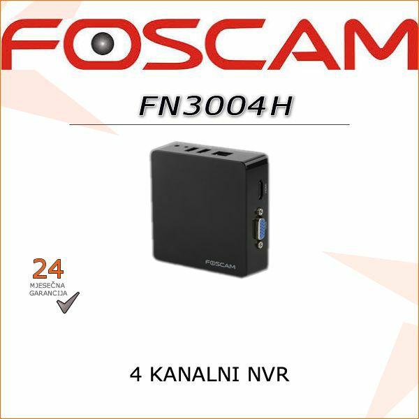 FN3004H- 4 KANALNI FOSCAM NVR ZA EKSTERNI  USB DISK