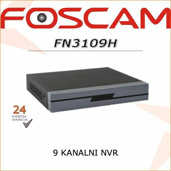 FN3109H  9 KANALNI FOSCAM NVR