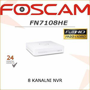 FOSCAM 8 KANALNI POE 1080P NVR