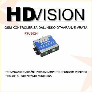 GSM KONTROLER ZA OTVARANJE VRATA-RAMPE