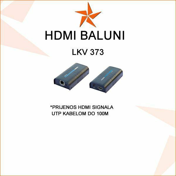 HDMI BALUN- PRIJENOS HDMI SIGNALA UTP KABELOM DO 100M