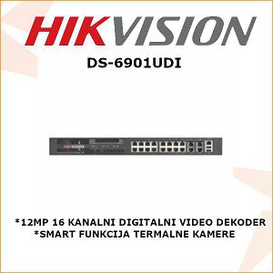 HIKVISION 12MP 16 KANALNI DIGITALNI VIDEO DEKODER