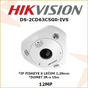 HIKVISION 12MP IP FISHEYE 1,29mm