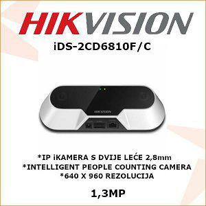HIKVISION 1,3MP IP iKAMERA 2,8mm