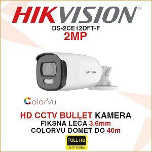 HIKVISION 2MP BULLET KAMERA 3.6mm